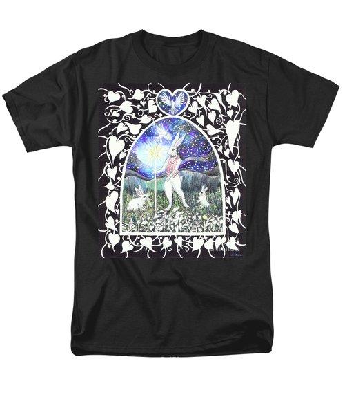 The Magician Men's T-Shirt  (Regular Fit) by Lise Winne