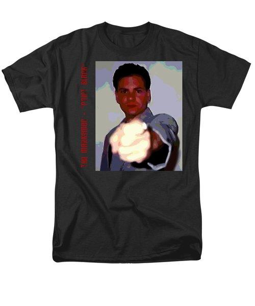 The Marksman - Point Blank Men's T-Shirt  (Regular Fit) by Mark Baranowski