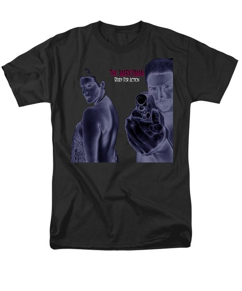 The Marksman - Ready For Action Men's T-Shirt  (Regular Fit) by Mark Baranowski