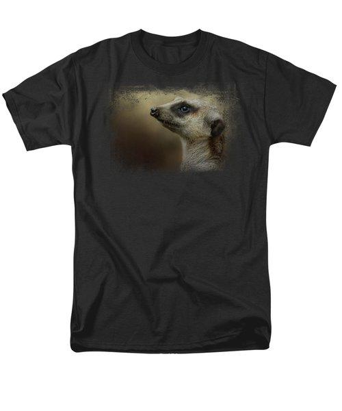 The Meerkat Men's T-Shirt  (Regular Fit) by Jai Johnson