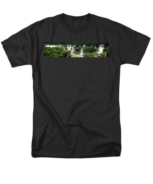 Men's T-Shirt  (Regular Fit) featuring the photograph The Mighty Iguazu  by Andrew Matwijec