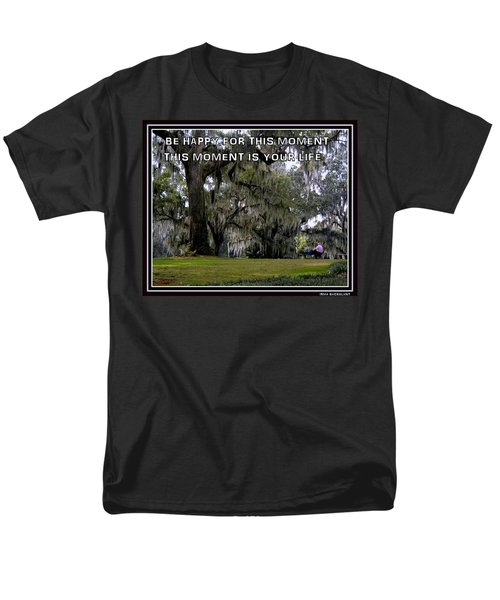 Men's T-Shirt  (Regular Fit) featuring the photograph The Moment by Irma BACKELANT GALLERIES