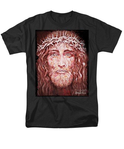 The Most Loved Jesus Christ Men's T-Shirt  (Regular Fit) by AmaS Art