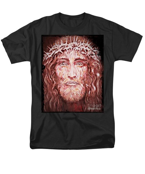The Most Loved Jesus Christ Men's T-Shirt  (Regular Fit)
