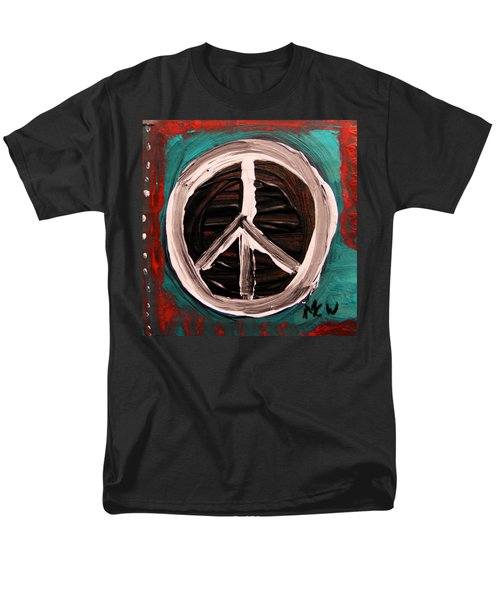 Men's T-Shirt  (Regular Fit) featuring the painting The Need Continues by Mary Carol Williams