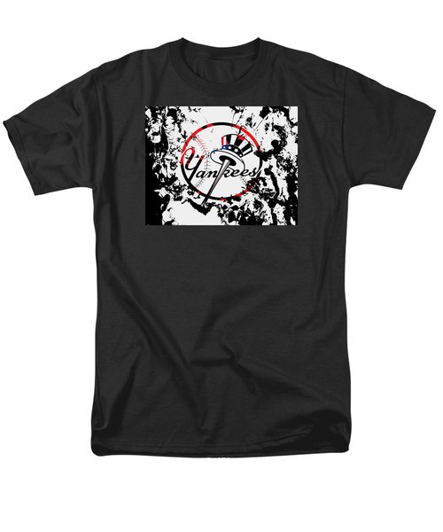 The New York Yankees 1b Men's T-Shirt  (Regular Fit) by Brian Reaves