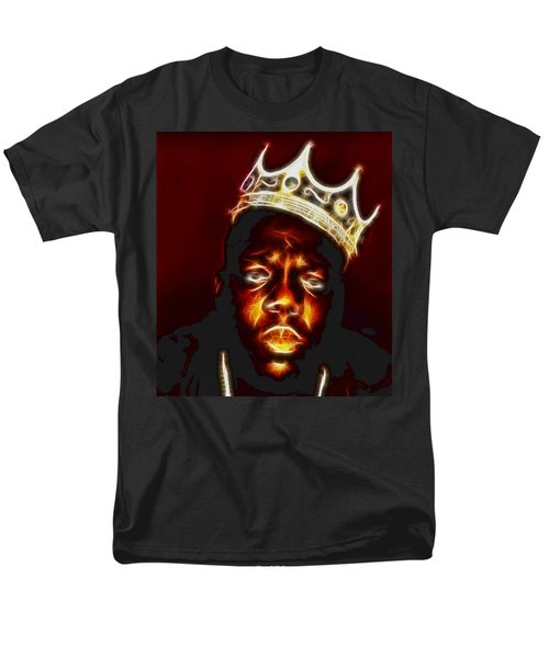 The Notorious B.i.g. - Biggie Smalls Men's T-Shirt  (Regular Fit) by Paul Ward