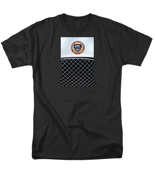 Men's T-Shirt  (Regular Fit) featuring the photograph The Panther Car Company by Theresa Tahara