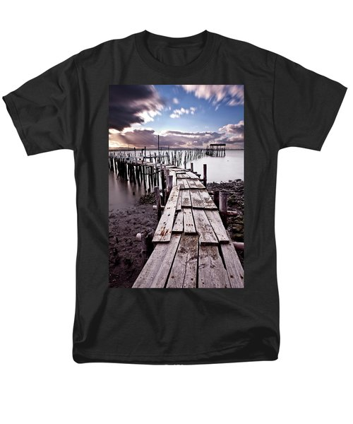 Men's T-Shirt  (Regular Fit) featuring the photograph The Path by Jorge Maia