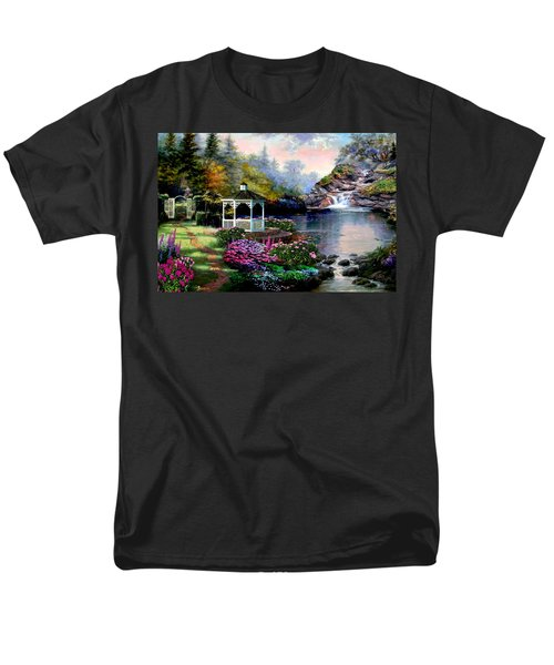 The Path Least Followed Men's T-Shirt  (Regular Fit) by Ron Chambers