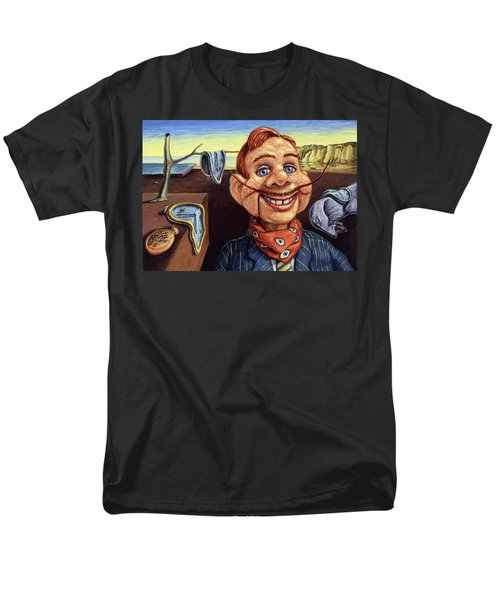 Men's T-Shirt  (Regular Fit) featuring the painting The Persistence Of Doody by James W Johnson