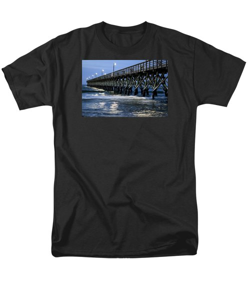 The Pier At The Break Of Dawn Men's T-Shirt  (Regular Fit) by David Smith