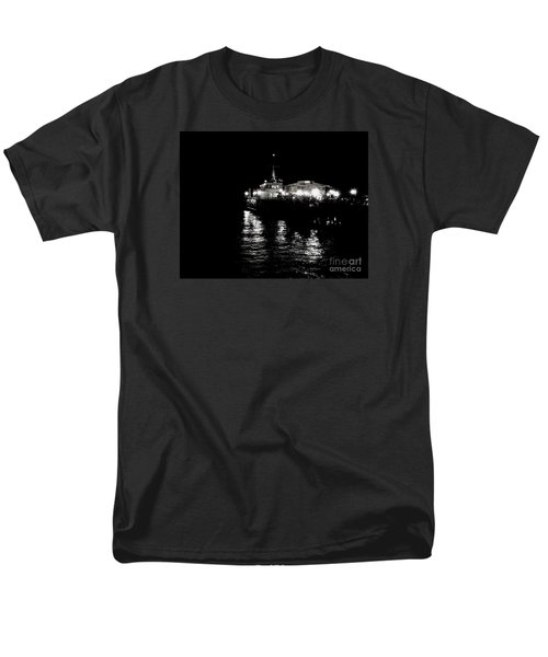 Men's T-Shirt  (Regular Fit) featuring the photograph The Pier by Vanessa Palomino
