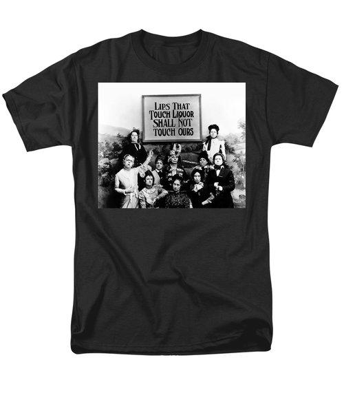 The Prohibition Temperance League 1920 Men's T-Shirt  (Regular Fit) by Daniel Hagerman