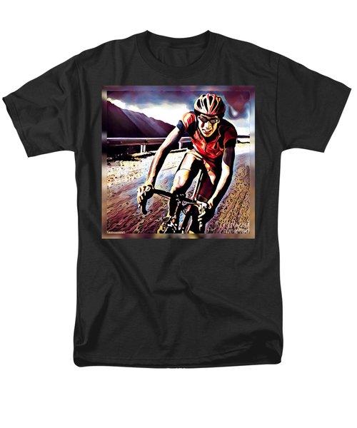 The Race Men's T-Shirt  (Regular Fit) by Maria Watt