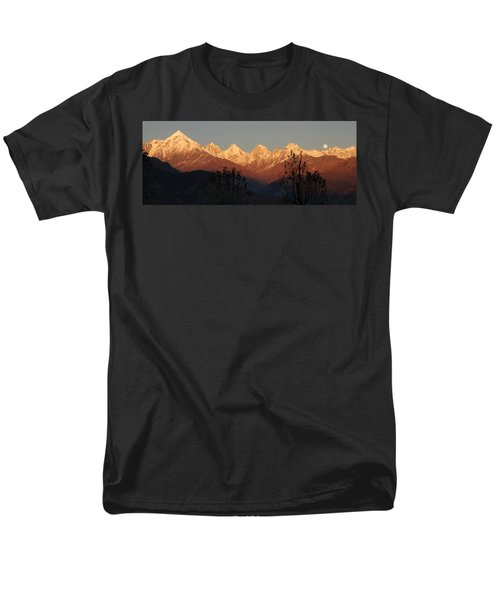 The Rendezvous. A Panorama. Men's T-Shirt  (Regular Fit) by Fotosas Photography