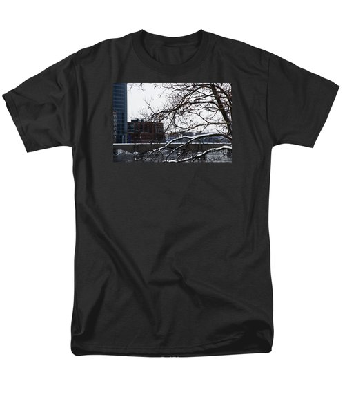 The River Divide Men's T-Shirt  (Regular Fit) by Linda Shafer