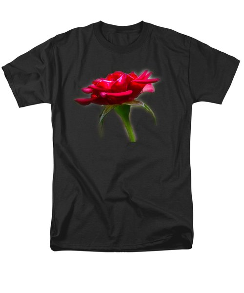 The Rose  Tee-shirt Men's T-Shirt  (Regular Fit) by Donna Brown