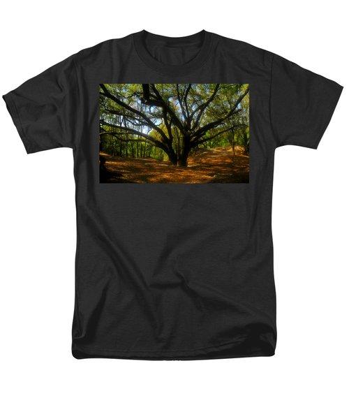 The Sacred Oak Men's T-Shirt  (Regular Fit) by David Lee Thompson