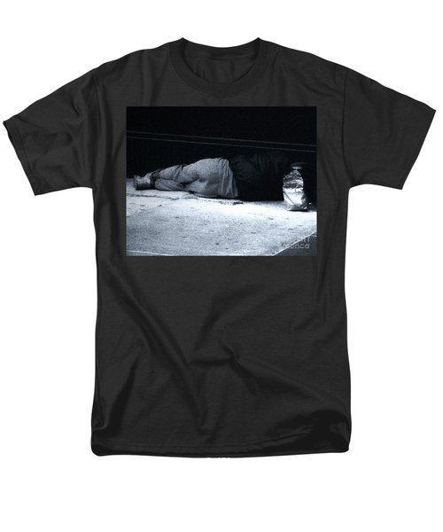 Men's T-Shirt  (Regular Fit) featuring the photograph The Sidewalks Of New York by RC deWinter