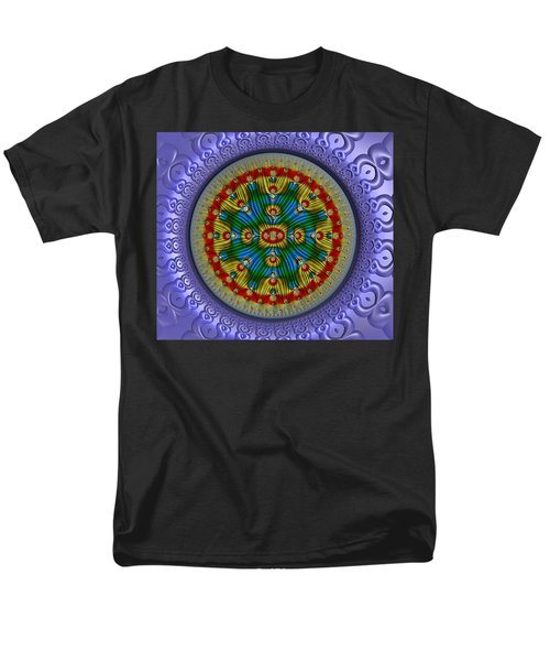 Men's T-Shirt  (Regular Fit) featuring the digital art The Singularity by Manny Lorenzo