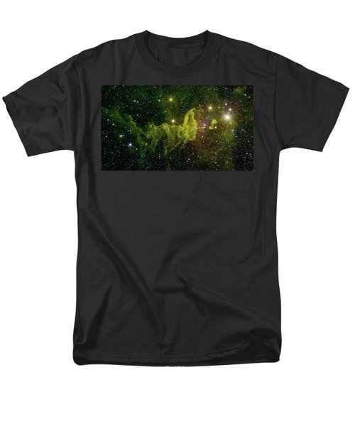 Men's T-Shirt  (Regular Fit) featuring the photograph The Spider And The Fly Nebula by NASA JPL - Caltech