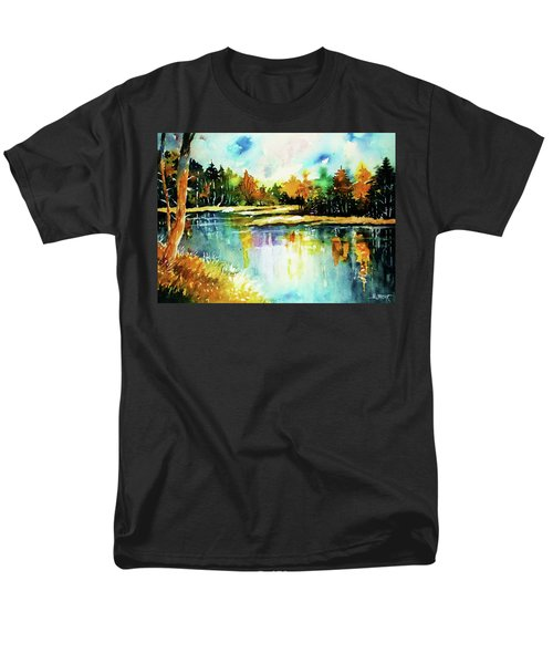 The Splendor And  Color Of Autumn Men's T-Shirt  (Regular Fit) by Al Brown