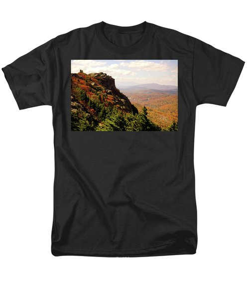 Men's T-Shirt  (Regular Fit) featuring the photograph The Summit In Fall by Meta Gatschenberger