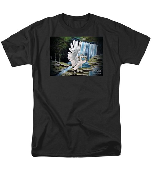 The Swan Men's T-Shirt  (Regular Fit) by Dianna Lewis