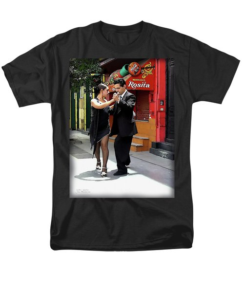 The Tango Men's T-Shirt  (Regular Fit) by Joan  Minchak