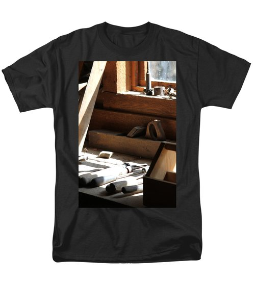 Men's T-Shirt  (Regular Fit) featuring the photograph The Tools by Laddie Halupa