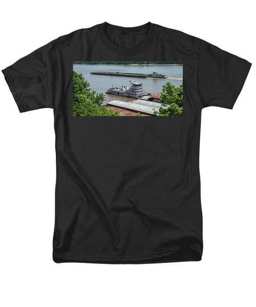 The Towboat Buckeye State Men's T-Shirt  (Regular Fit) by Garry McMichael