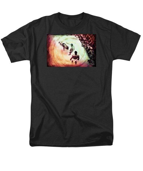 Men's T-Shirt  (Regular Fit) featuring the photograph The Upset by Allen Beilschmidt