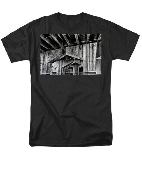 Men's T-Shirt  (Regular Fit) featuring the photograph The Urban Jungle by Brad Allen Fine Art