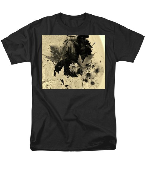 Men's T-Shirt  (Regular Fit) featuring the mixed media The Waiting Pool by Mary Ellen Frazee
