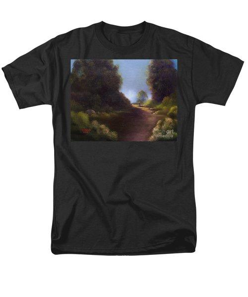 The Walk Home Men's T-Shirt  (Regular Fit) by Marlene Book