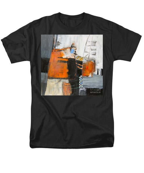 Men's T-Shirt  (Regular Fit) featuring the painting The Way Out by Ron Stephens