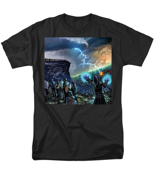 The Weak Shall Bring Us Down Men's T-Shirt  (Regular Fit) by Tony Koehl