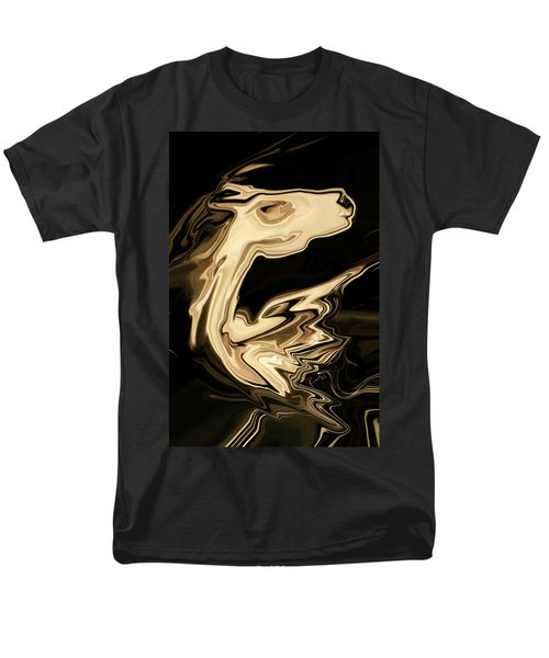 Men's T-Shirt  (Regular Fit) featuring the digital art The Young Pegasus by Rabi Khan