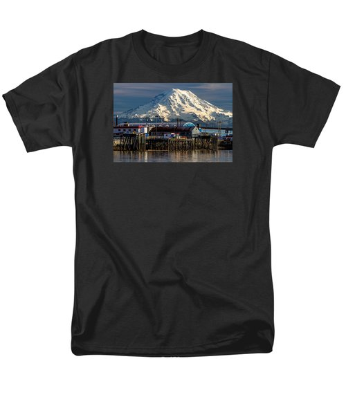 Thea Foss Waterway And Rainier 2 Men's T-Shirt  (Regular Fit) by Rob Green
