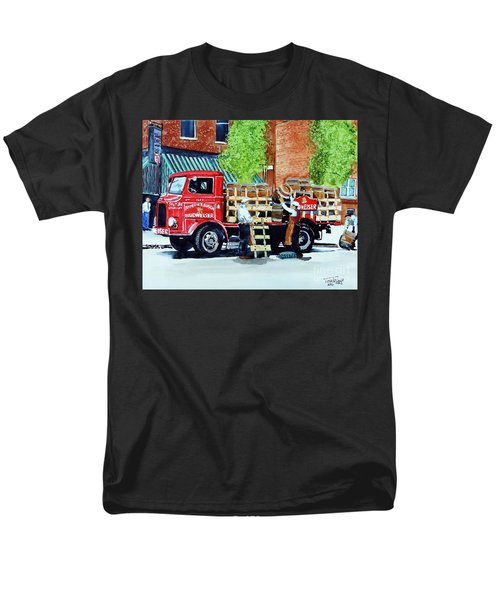 Men's T-Shirt  (Regular Fit) featuring the painting This Bud's For You by Tom Riggs