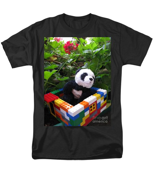 Men's T-Shirt  (Regular Fit) featuring the photograph This House Is Too Small For Me by Ausra Huntington nee Paulauskaite