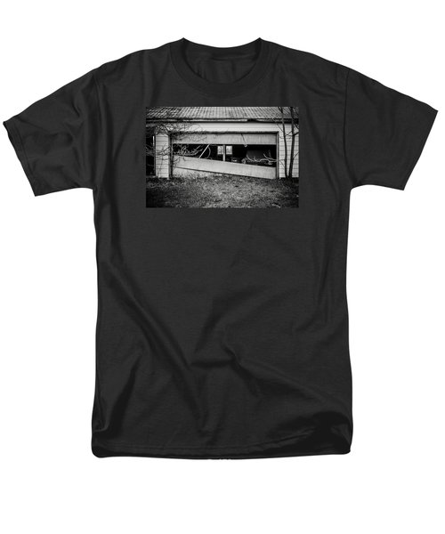 This Was Once The Perfect Hideout Men's T-Shirt  (Regular Fit) by Off The Beaten Path Photography - Andrew Alexander