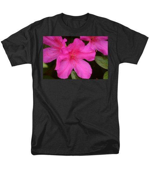 Three Azaleas Men's T-Shirt  (Regular Fit) by Warren Thompson