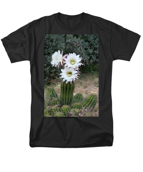 Three Blossoms Men's T-Shirt  (Regular Fit) by Monte Stevens