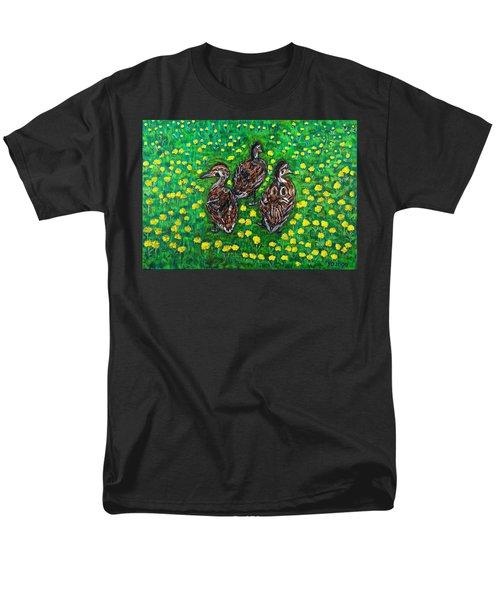 Three Ducklings Men's T-Shirt  (Regular Fit)