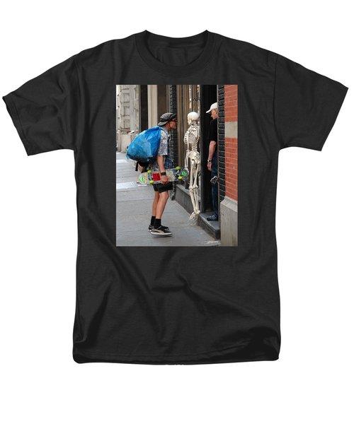 Men's T-Shirt  (Regular Fit) featuring the photograph Three Friends by Dorin Adrian Berbier