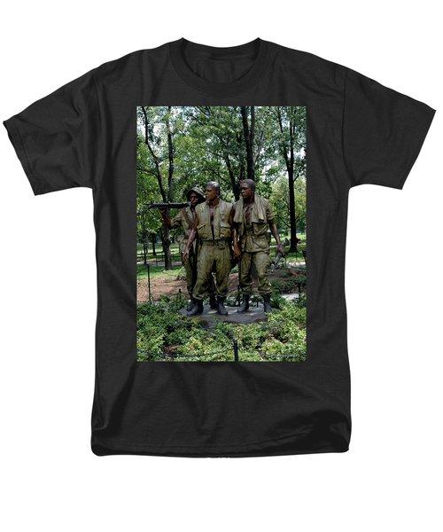 Three Servicemen Men's T-Shirt  (Regular Fit) by LeeAnn McLaneGoetz McLaneGoetzStudioLLCcom