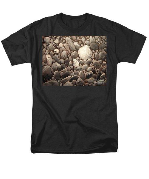 Three Shells Men's T-Shirt  (Regular Fit) by Mary Hubley
