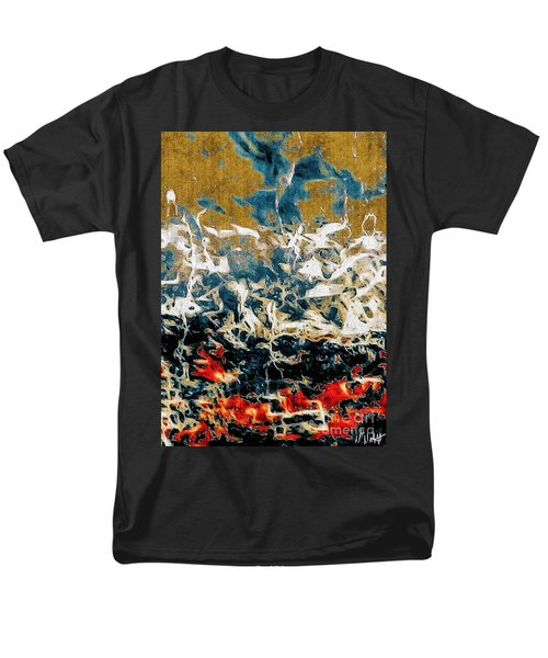 Men's T-Shirt  (Regular Fit) featuring the photograph Through The Cracks by William Wyckoff